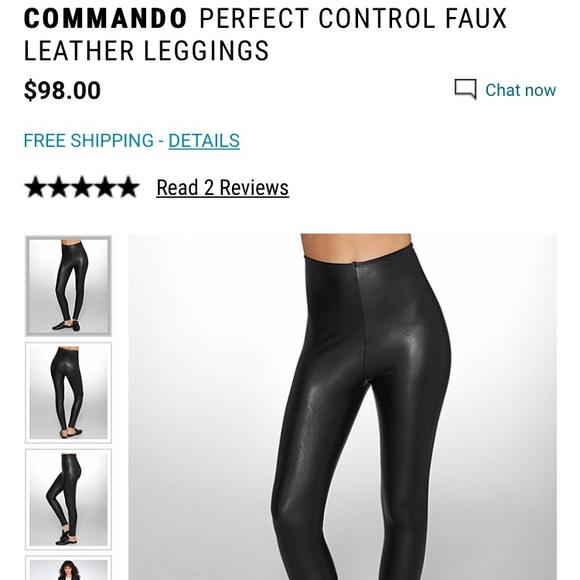 15355f7e67967 Commando Pants | Perfect Control Faux Leather Legging | Poshmark